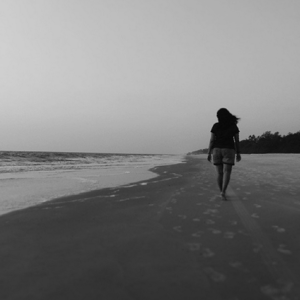 Walk slowly, breathe deeply, savor the moment. #goa