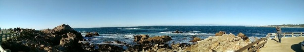 Vantage point at 17 mile drive