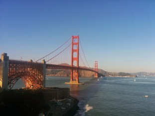 famed golden gate bridge